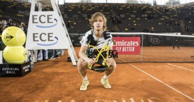 Rublev se quedó con el ATP de Hamburgo