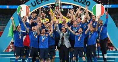 Eurocopa: Italia campeón