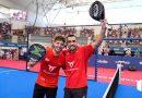 Pádel: gran título para Tapia y Lima