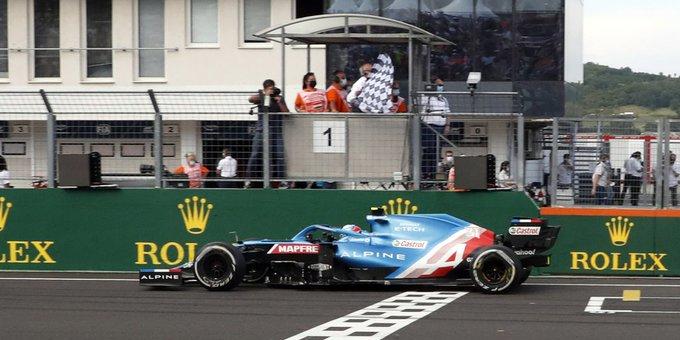F1: Ocon ganó en Hungría
